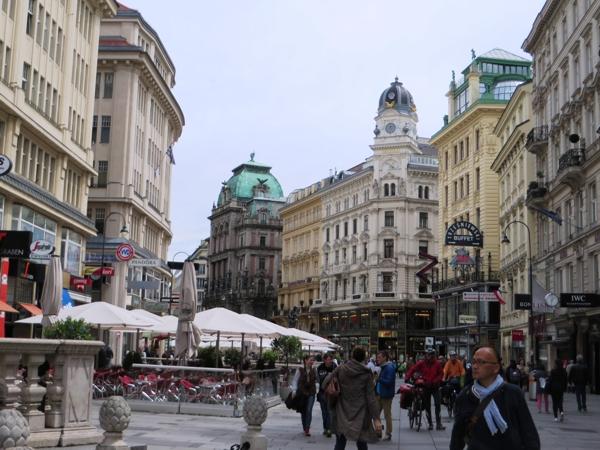 Kärntner Straße, Vienna's most famous shopping street