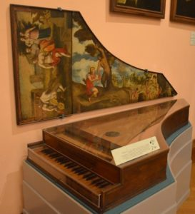 A harpsichord