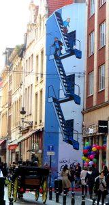 Tintin Mural 01